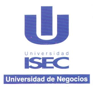 Linea de Tiempo Logo Pasado Universidad de Negocios ISEC