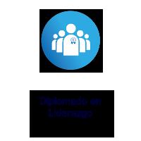 Logo Texto Diplomado en Liderazgo