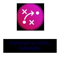 Logo Texto Diplomado en Visión Estratégica