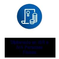 Logo Texto Diplomado en IVA e ISR