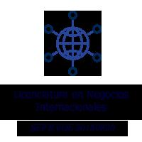 UNEG ISEC - Licenciatura en Negocios Internacionales Logo con Texto