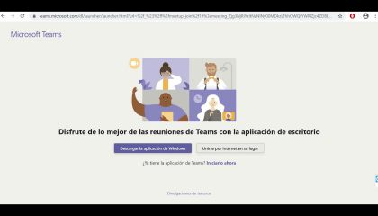 Universidad de Negocios ISEC - Video Tutorial Microsoft Teams para clases en línea cover