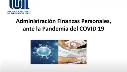 Webinar - Finanzas Personales